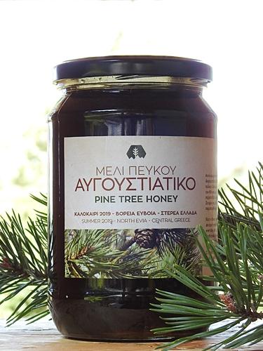 Μέλι πεύκου - Aυγουστιάτικος τρύγος